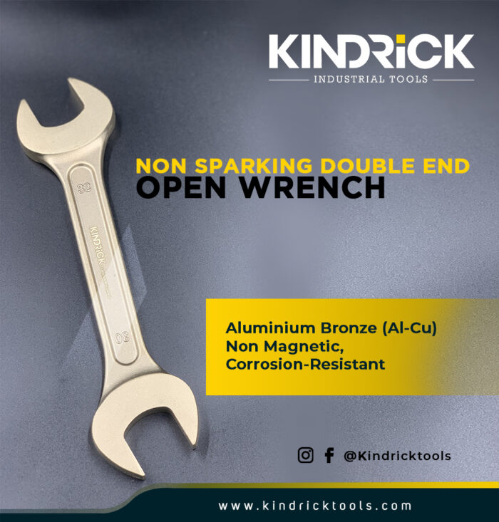 Non-Sparking Double End Open Wrench
