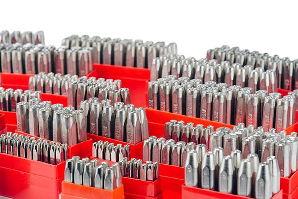 Pryor Premium Punches – Letter & Figure sets